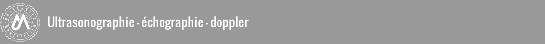 Ultrasonographie – Echographie – Doppler Logo